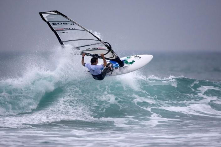 Nick Moffatt Windsurfing