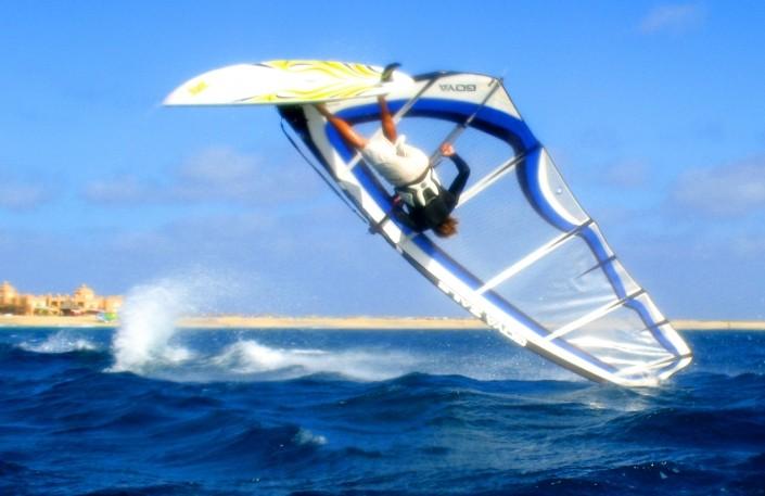 Windsurfing Nick Moffatt