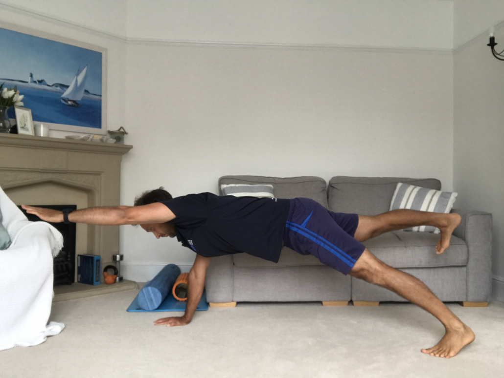 2 point plank