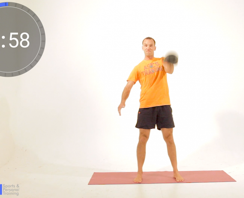 3of5 Kettelbell snatch sequence