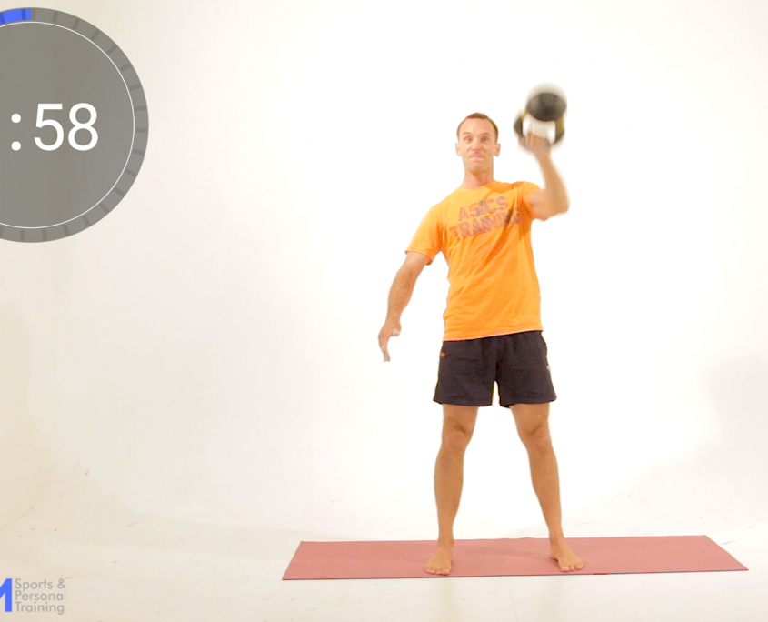 4of5 Kettelbell snatch sequence