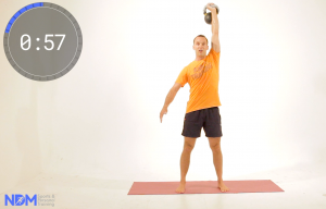 5of5 Kettelbell snatch sequence